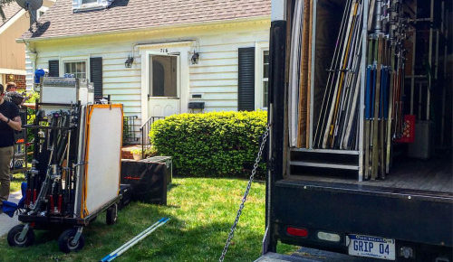 More filming in Ann Arbor and Flint today! #bts #video…