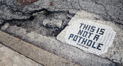 This is Not a Pothole – We've Updated the Blog
