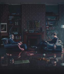 Todd Antony Creates Teaser Trailer for Sherlock's Season 4