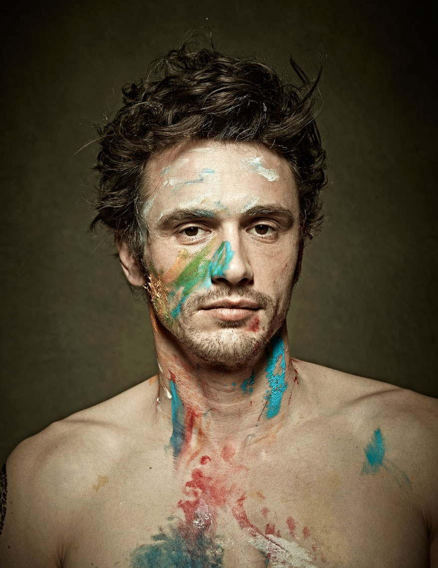 Painted James Franco