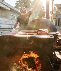 Thanks for bringing some Texas BBQ to West Adams! @rattlecreek…