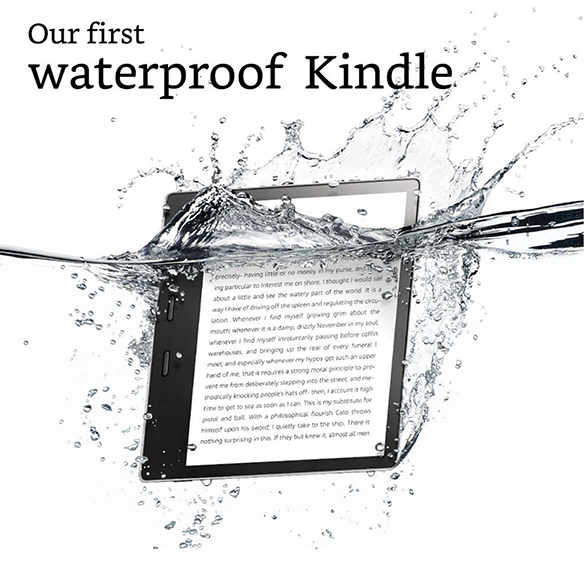 Dan Saelinger For Amazon's Kindle Oasis