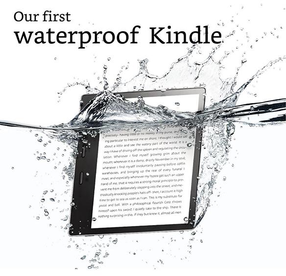 Dan Saelinger ForAmazon's Kindle Oasis