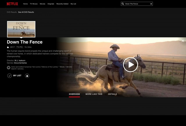 Down the Fence on Netflix