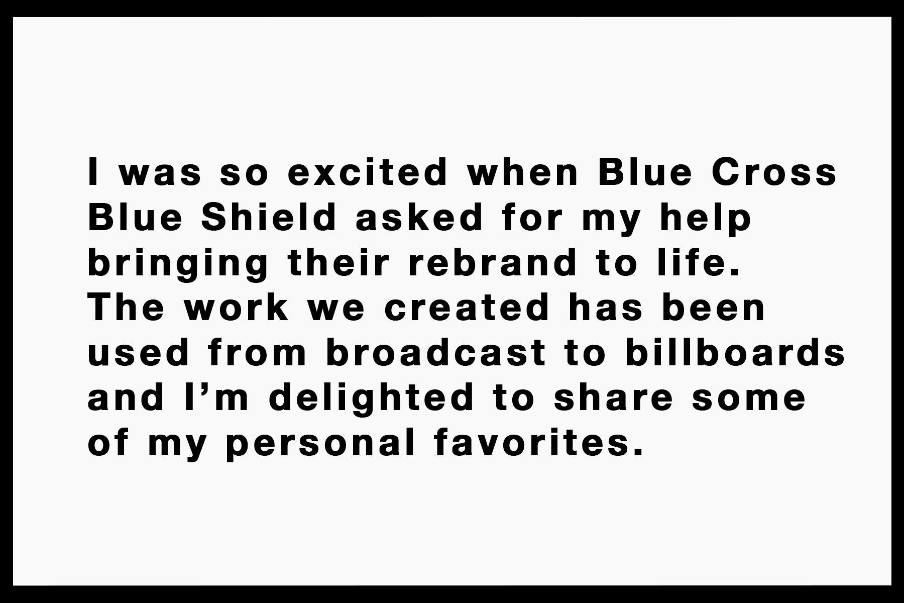 Case Study: Blue Cross Blue Shield, Lisa Wiseman, Photographer. At-Edge